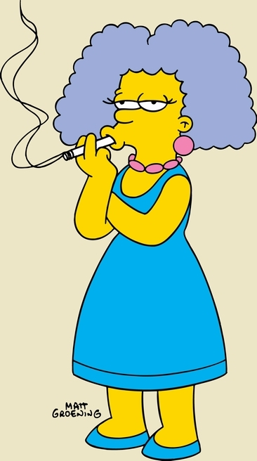 Death to all smokers the mind travels - Selma bouvier ...