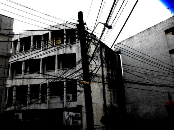 power lines in Bangkok